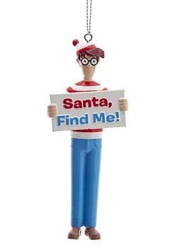 Where's Waldo Blow Molded Ornament Main