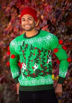 Kitty Trouble Adult Ugly Christmas Sweater