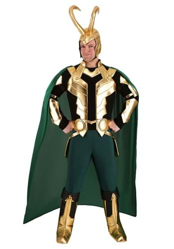 Marvel Loki Plus Size Mens Premium Costume