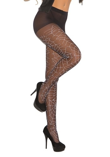 Click Here to buy Glow in the Dark Spider Tights for Women from HalloweenCostumes, CDN Funds & Shipping