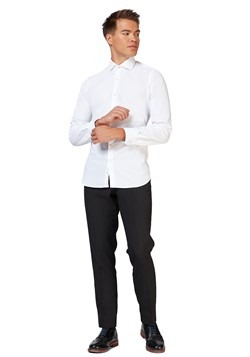Men's OppoSuits White Knight Shirt