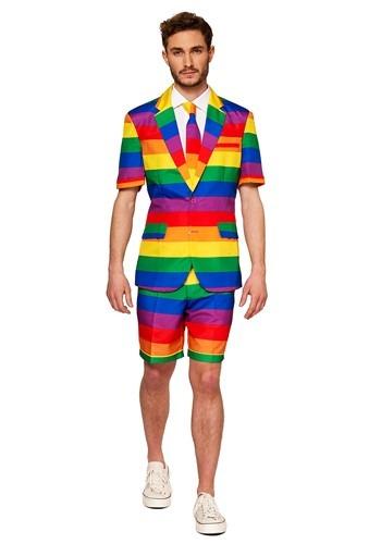 Men's Suitmeister Rainbow Summer Suit
