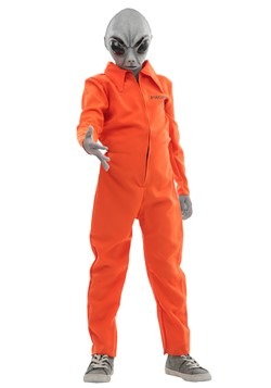 Child's Area 51 Escapee Costume