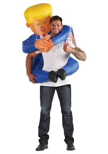 Adult Inflatable Presidential Hugger Mugger Costume