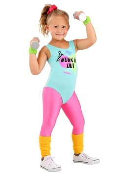 Totally 80s Toddler Workout Costume