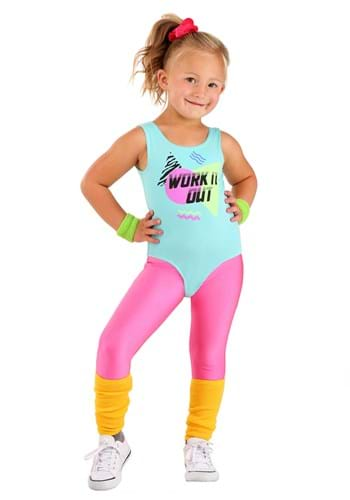 Toddler Totally 80s Workout Costume