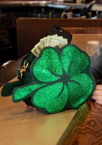St. Patricks Day Shamrock Purse