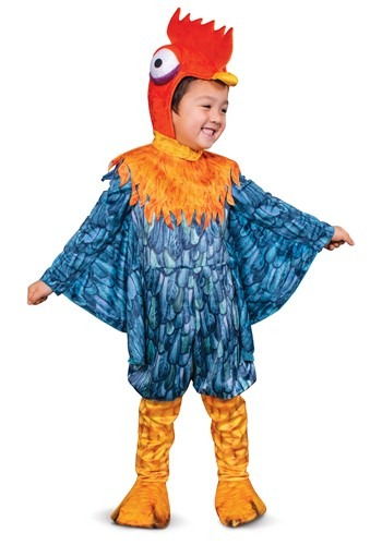 Click Here to buy Moana Boys Toddler Hei Hei Deluxe Costume from HalloweenCostumes, CDN Funds & Shipping