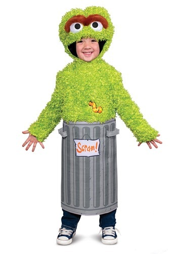 Sesame Street Boys Infant Oscar the Grouch Costume