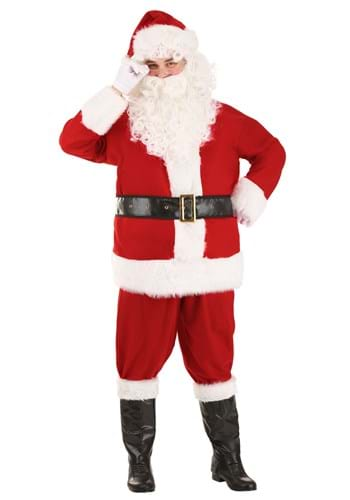 Holiday Santa Claus Adult Size Costume