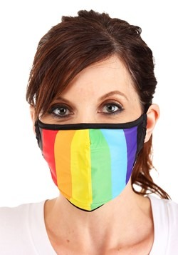 Pride Theme Protective Fabric Face Covering Mask