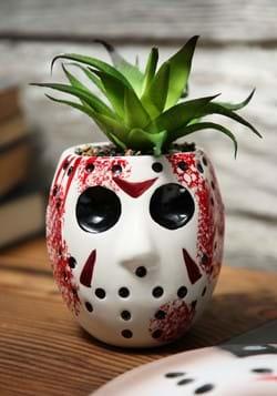 Jason Mask Large Ceramic Planter