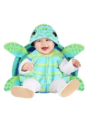Click Here to buy Baby Sea Turtle Costume from HalloweenCostumes, CDN Funds & Shipping