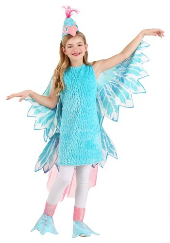 Girl's Zarya the Dazzling Bird Costume