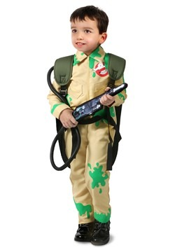Ghostbusters Child Slime-Covered Ghostbuster Costu
