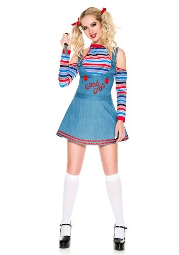Click Here to buy Sexy Good Guys Doll Womens Costume from HalloweenCostumes, CDN Funds & Shipping