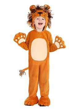 Child Roaring Lion Costume