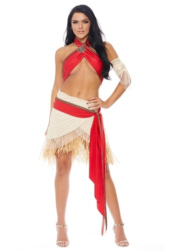 Island Princess Womens Costume