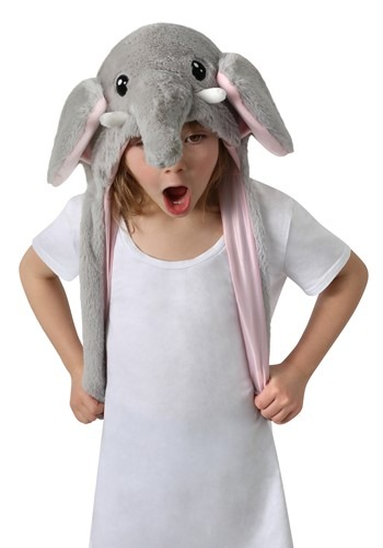 Click Here to buy Elephant Moving Ears Plush Hat from HalloweenCostumes, CDN Funds & Shipping