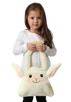 Moving Ears Sheep Plush Trick or Treat Bag