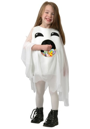 Click Here to buy Feed Me Ghost Kids Costume from HalloweenCostumes, CDN Funds & Shipping