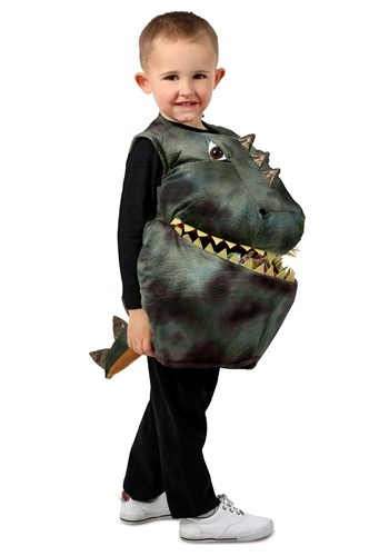 Click Here to buy Feed Me Dinosaur Kids Costume from HalloweenCostumes, CDN Funds & Shipping