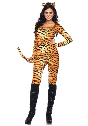Click Here to buy Sexy Wild Tiger Costume from HalloweenCostumes, CDN Funds & Shipping