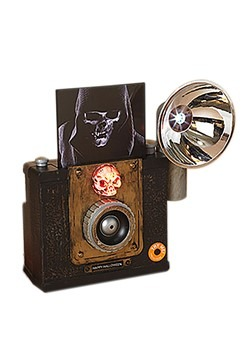 "9.5""H Lighted Animated Halloween Camera w/ Sound"