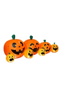 "96""L Electric Inflatable Halloween Pumpkins"
