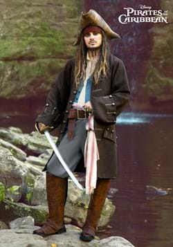 Deluxe Jack Sparrow Pirate Costume for Adults