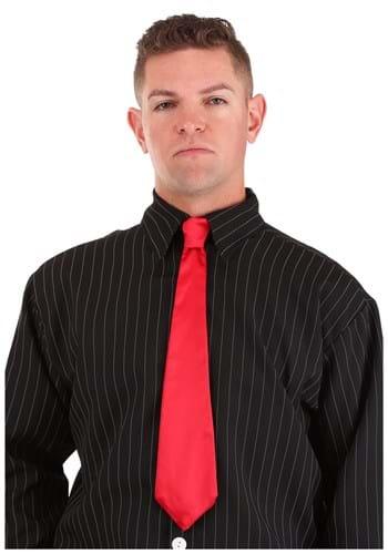 Gangster Red Tie