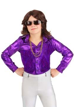Shattered Glass Disco Shirt for Kids