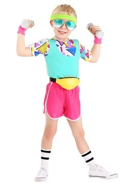 Toddler Work It Out 80s Costume