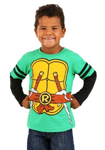 Kids Teenage Mutant Ninja Turtles Longsleeve Tee Costume