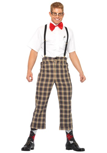 Click Here to buy Mens Nerdy Nerd Costume from HalloweenCostumes, CDN Funds & Shipping