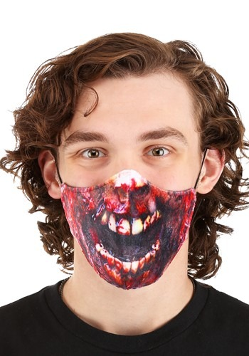 Zombie Sublimated Face Mask for Adults
