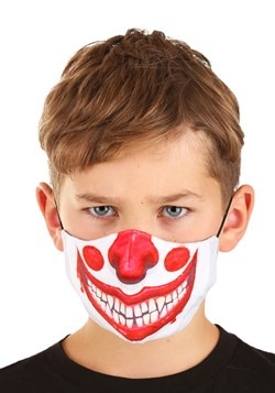 Child Clown Sublimated Face Mask