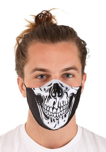 Skeleton Sublimated Face Mask for Adults