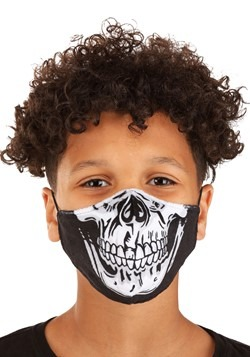 Child Skeleton Sublimated Face Mask