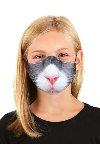 Kids Cat Sublimated Face Mask