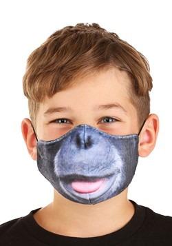Child Gorilla Sublimated Face Mask