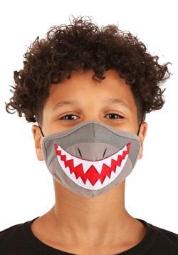 Child Shark Sublimated Face Mask