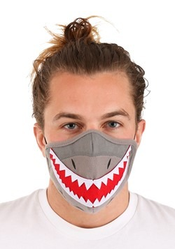 Adult Shark Sublimated Face Mask