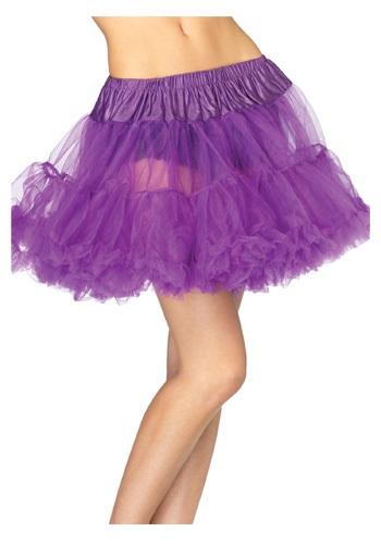 Purple Tulle Petticoat