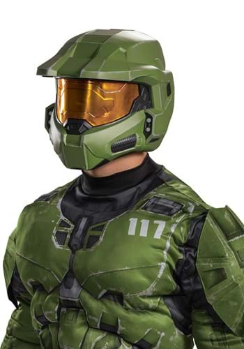 Halo Infinite Master Chief Helmet For Adults