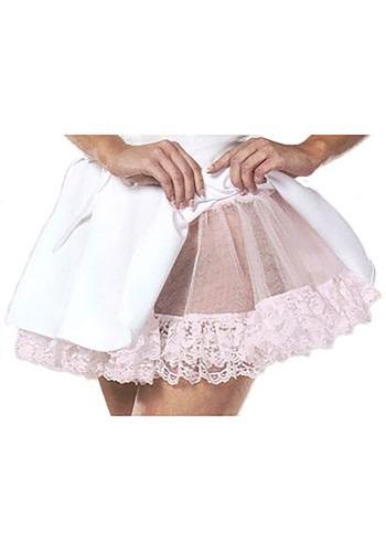 Pink Lace Teardrop Petticoat Slip
