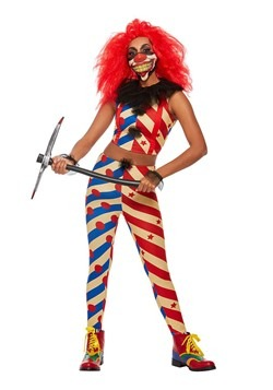 Women's Malicious Clown Costume