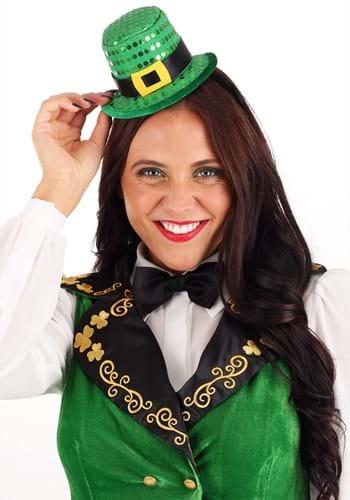 Mini Sequin Leprechaun Hat Headband