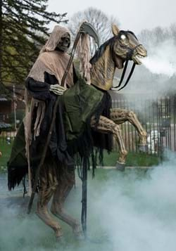 7 Ft. Reaper's Ride Animatronic Prop