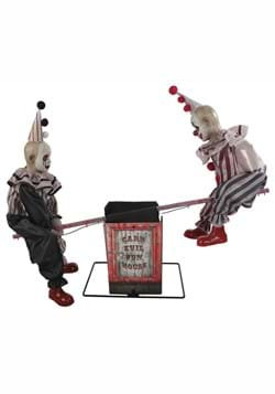 36 Inch See-Saw Clowns Animatronic Prop
